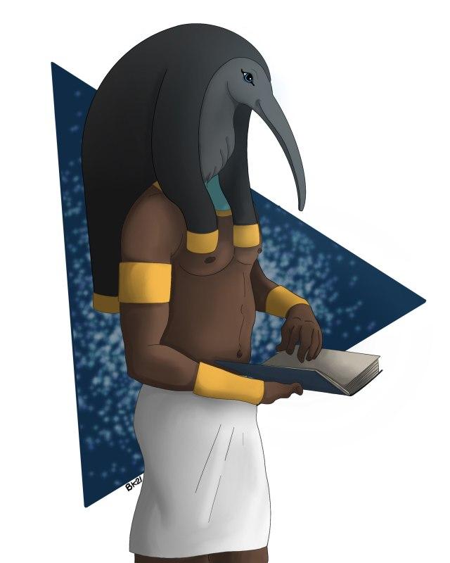 The Ancient Egyptian God Djehuty