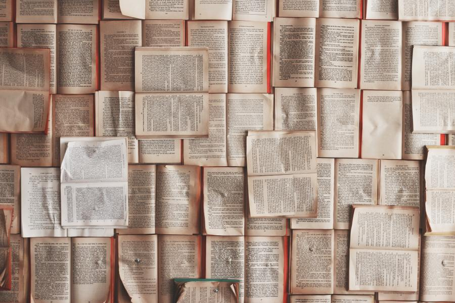 Many books by Patrick Tomasso Unsplash